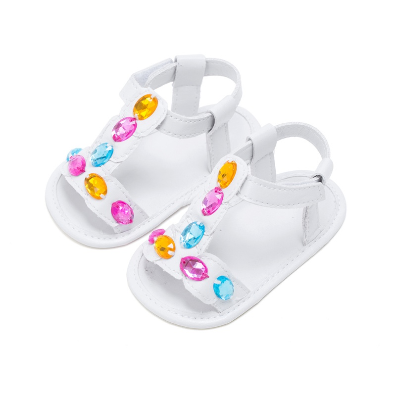 First Walkers Baby Shoes Newborn Toddler Infant Girl Hook Hollow Out Shoes