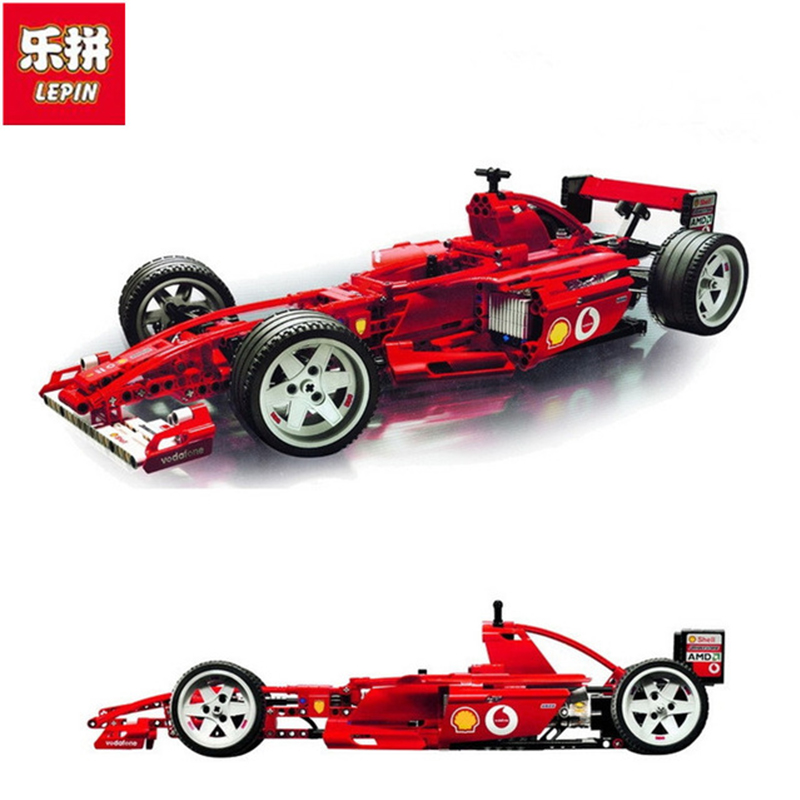1242pcs 3335 Technic F1 Racers 1:8 Scale Model Building Blocks Minicar Diecast Racing Cars Boy Toys Vehicle Compatible legoed цена