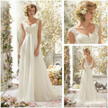 Vestido de festa Nueva blanco/de marfil de encaje Vestidos de Novia 2017 Vestido de Novia Personalizado tamaño 2 4 6 8 10 12 14 16 W 18 W 20 W 22 W