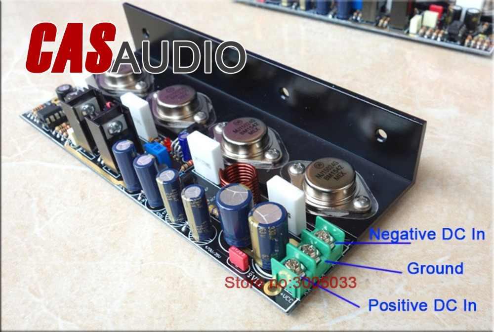 Пара 20 Вт-отзывы чистый DC класс стерео усилитель, W/на MJ15024/25 MJ15034/35 транзисторы