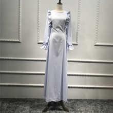 Vestidos Abaya Dubai Kaftan Linen Shawl Muslim Hijab Dress Qatar UAE Abayas For Women Elbise Turkish Islamic Dresses Clothing