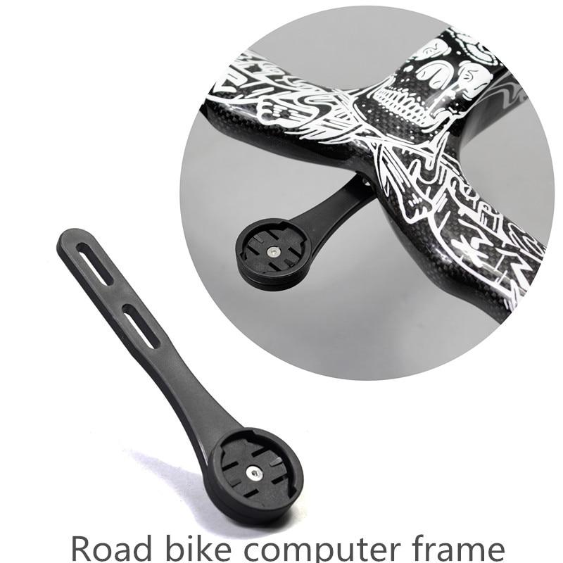 Carbon Bicycle Handlebar Computer Mount Integrated Bike bar Speedometer Holder
