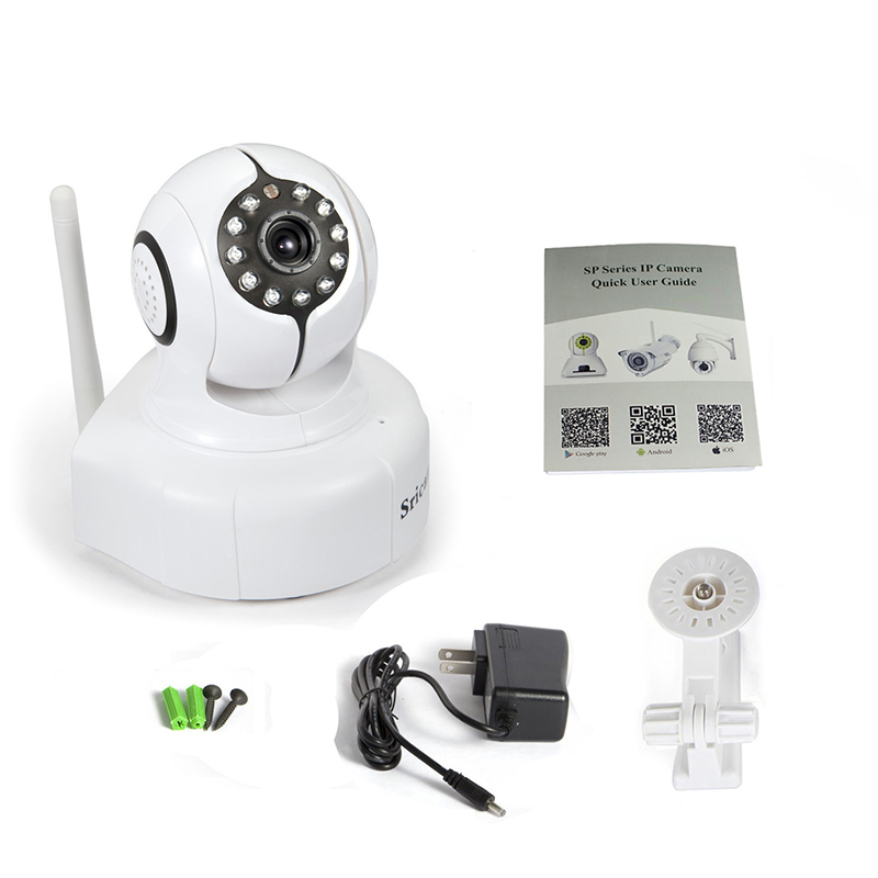 Sricam IR-CUT IP Camera 720P Wireless Night Vision WiFi P2P Home Security Surveillance System Camera Support IOS Android