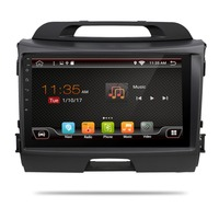 3G/4G 9 Inch! Android 7.1 quad core Head unit Car DVD player for KIA sportage r 2014 2011 2012 2013 2015 with Gps wifi Radio