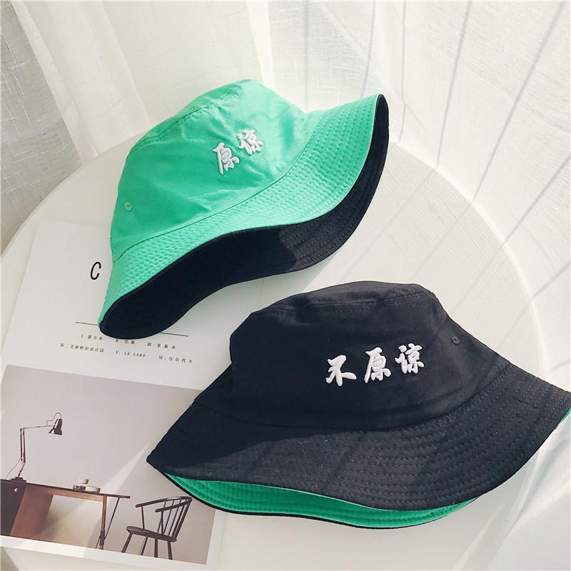 2018 ใหม่สไตล์ถังหมวก u nisex - อุปกรณ์เครื่องแต่งกาย