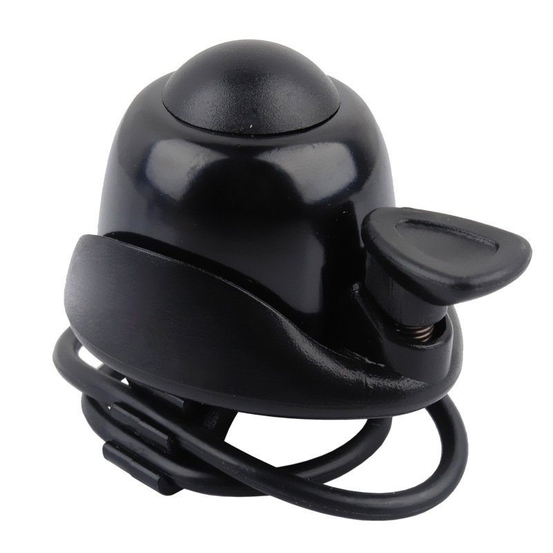 Bike-Bell Bell-Rings Handlebar Cycling-Horn Protective Safety Aluminum-Alloy Black Outdoor