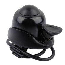Велосипедный звонок для безопасности, велосипедный звонок, черный руль, алюминиевый сплав, аварийное кольцо, Наружные защитные колокольчики, велосипедный Рог