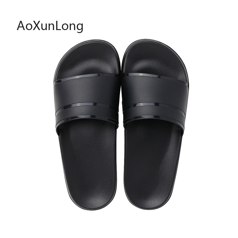 Men Shoes Flats Bathroom Slippers Summer Sandals Indoor Home Slippers Casual Men Flip Flops Male Slides Outdoor Beach Slippers