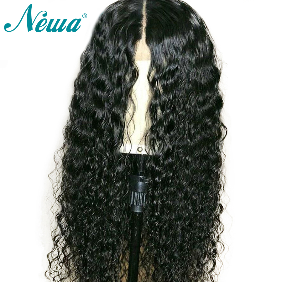 Silk Base Full Lace Human Hair Wigs With Baby Hair Pre Plucked Curly Brazilian Remy Hair