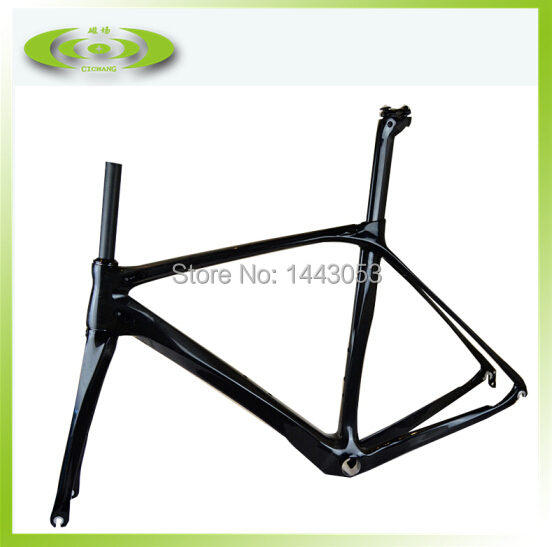 <font><b>OEM</b></font> carbon <font><b>bike</b></font> frame 100% carbon road bicycle frame on sale with free shipping image
