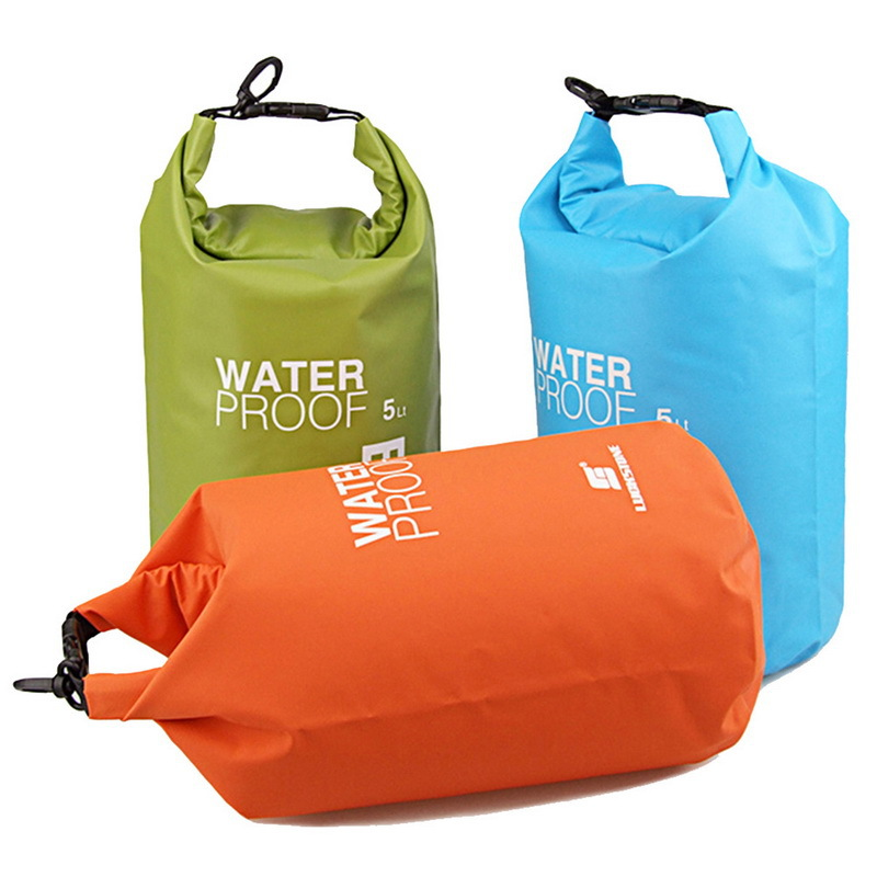 5L NEW Portable Ultralight Outdoor Travel Rafting Waterproof Dry Bag Swimming 4 Colors