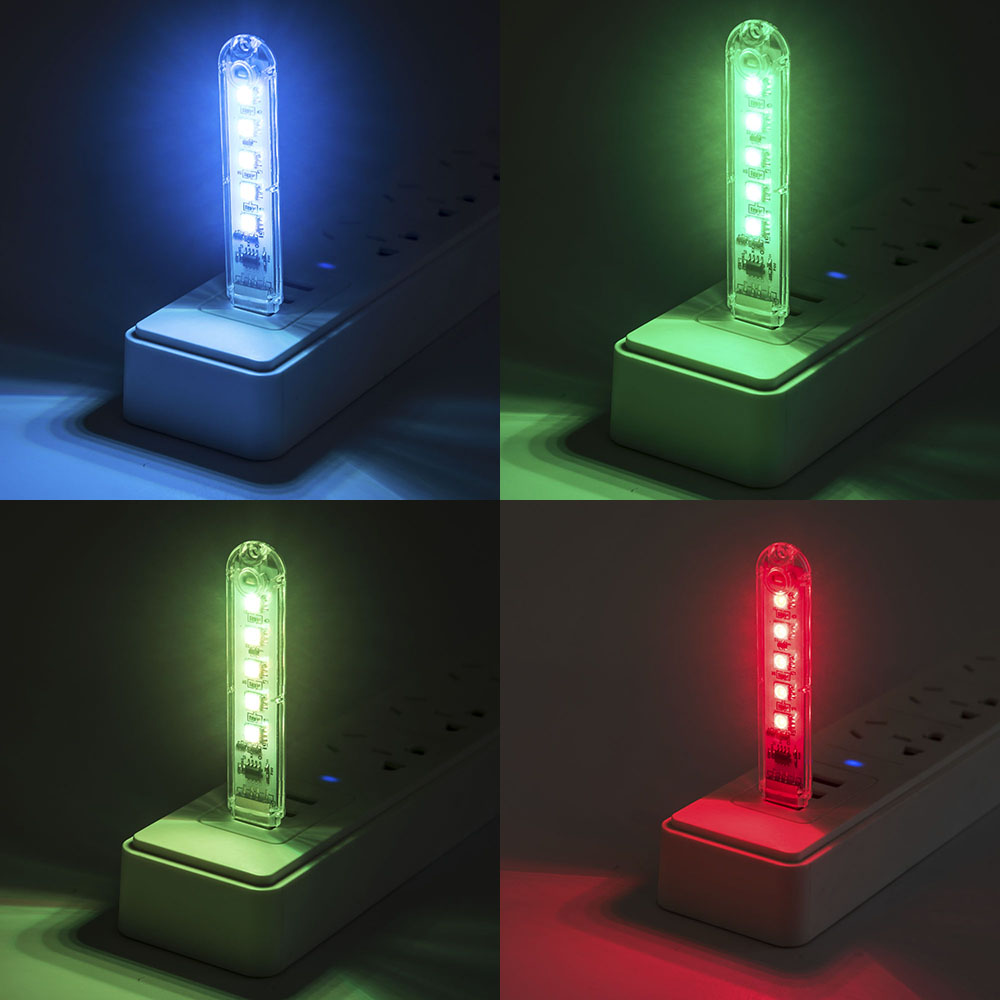 New Arrival Reading Lamp LED USB Book Light Ultra Bright 5 Colors For USB Comupter Notebook Protect Eyes Book Lamp