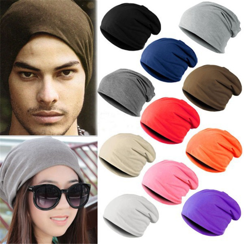 Hot Winter  Hair Day Warm Unisex Knitted  Crochet Slouchy Hat Cap for Women Men Beanies Hip Hop Hats For Dropshipper hot winter beanie knit crochet ski hat plicate baggy oversized slouch unisex cap