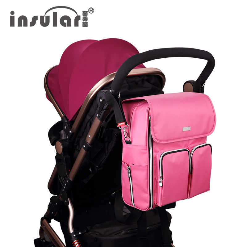 Yingxiuli Waterproof Nylon Mummy Bag Multifunctional Large Capacity Backpack Bag Handbag Wholesale Baby Mom [sa] new japan genuine original smc solenoid valve syj5523 4g c4 spot