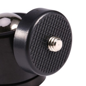 """Image 4 - Mini rótula de bola de 1/4 """"Para rótula de trípode de cámara para Nikon/Canon cámara DSLR Dsr soporte de montaje para cámara 1/4"""" a 3/8 """"tornillo de montaje"""