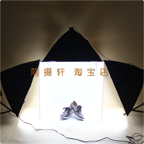 New Professional Portable Photo Studio Softboxes 60 60 Tent Light min studio photography softbox 4 color