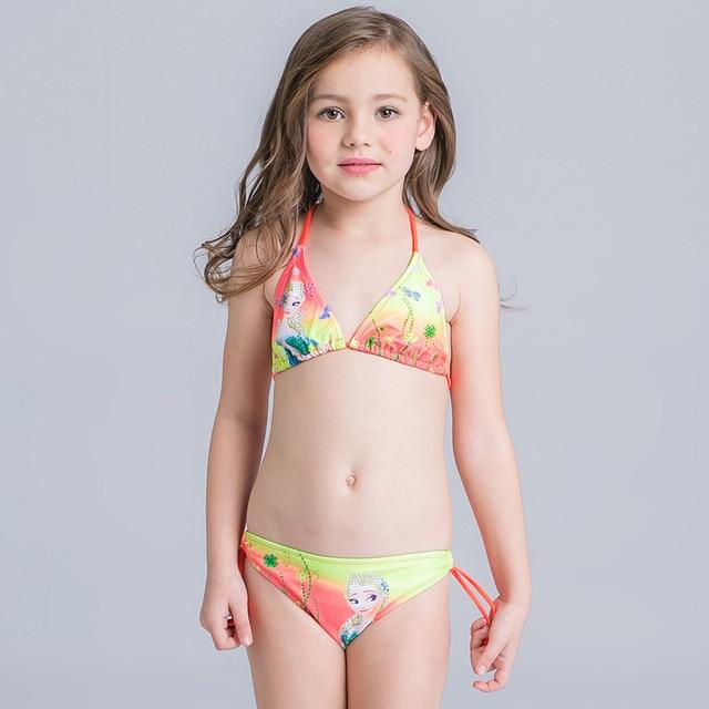 SwimwearChildren Pattern Bikini Cute Star Clips New Split 78muzhidouhot Bathing Girls Hair Two Pieces Swimsuit In Summer Us14 Suit 6gyYfvb7