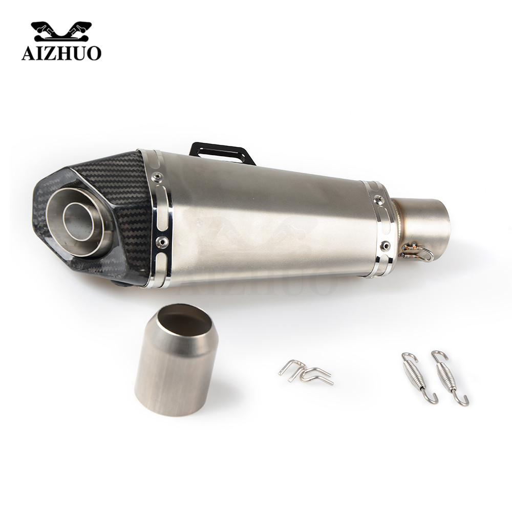 Universal 36-51MM Modified Motorcycle Exhaust Pipe Muffler FOR honda yamaha suzuki kawasaki ducati ktm bmw ATV Scooter