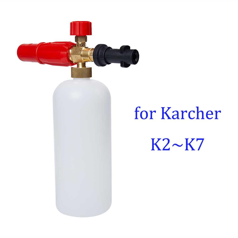 High Pressure Snow Foam Lance Foam Gun for Karcher K2 - K7 Series 1L Soap Foam Generator Car Washer