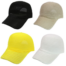 2019 Hot Men Women Baseball Hat Breathable Sun Protective Solid Casual Sunshade Cap for Summer SMA66 chic tartan pattern sun resistant breathable baseball cap for women