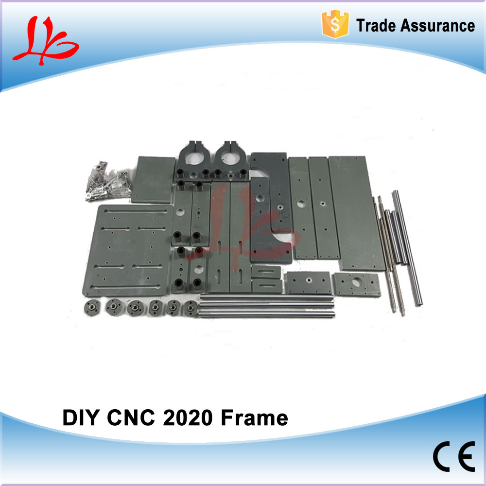 CNC Machine Parts CNC 2020 Frame Without Motor for CNC Router DIY eur free tax cnc 6040z frame of engraving and milling machine for diy cnc router