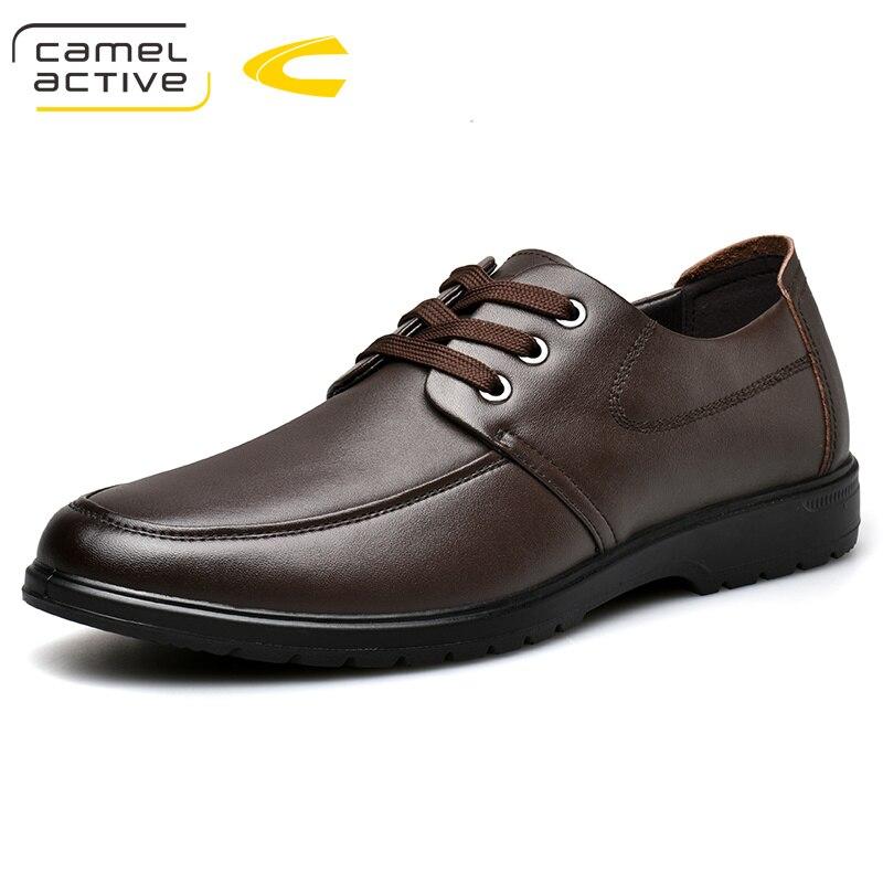 Camel Active 2019 nueva llegada hombres zapatos de vestir de cuero genuino hombres zapatos de boda marca hombres zapatos brogue zapatos alto calidad-in Zapatos formales from zapatos    1