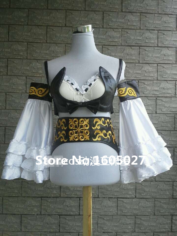Game Anime LOL Miss Fortune Hallowmas Clothing Dress Uniform Cosplay Costume Custom made Any Size Free