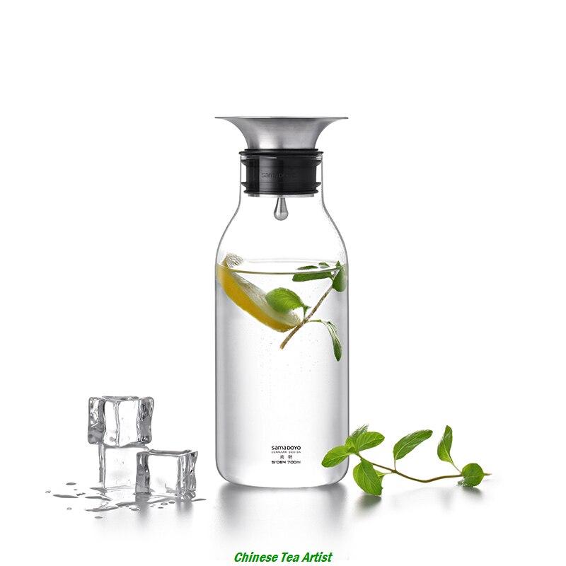 Sama steklena posoda za vodo iz borosilikatnega stekla SAMADOYO s - Kuhinja, jedilnica in bar