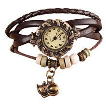 Weave Around Bracelet Cat Watch
