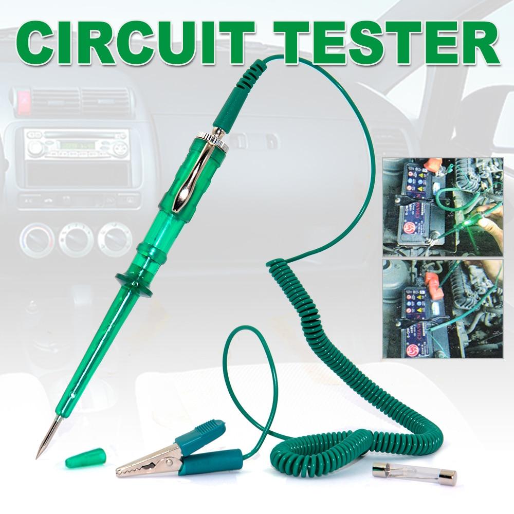 Auto electrical tester car light lamp voltage test pen