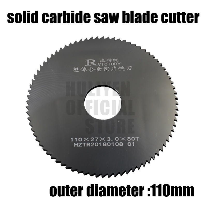 2pcs 110mm out dia circular slitting saw blade cutter 110*0.8 110*1.9 Teeth Tungsten Steel Saw Blade 40mm Milling Cutter new bt50 sca32 90l circular saw blade cnc milling toolholder