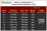 Квадрат из светодиодов потолок лампа 6 w 10 Вт 14 Вт 18 Вт 24 Вт 30 Вт 36 w из светодиодов место лёгкие