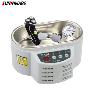 Mini Smart Ultrasonic Cleaner Tool Sterilizing Cleaning Ultrasound Wave Washing For Jewelry Glasses Ultrasound Bath Machine 1200bt ultrasonic cleaner fuel injection uv fruits vegetables detoxification machine cleaner grape strawberry sterilizing
