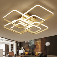IKVVT Modern Simple Ceiling Lights Creative Squares LED White Ceiling Lamp for Bedroom Livingroom Office Deco Lighting Fixtures