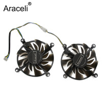 2pcs/lot Cooler Fan 12V 83mm 4Pin For ZOTAC GTX 950-2GD5 TSI PA GTX 960-4GD5 HB Graphics Card Cooling Fan bykski n as96oc x for asus gtx 960 dc2oc 2gd5 vga water cooling block