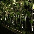 Освещение праздника 4*0.6 М Фея Свет Шнура СИД 120LED Водослива 220В Фестиваль Украшения Гирлянды Лампы Открытый Рождественские Огни