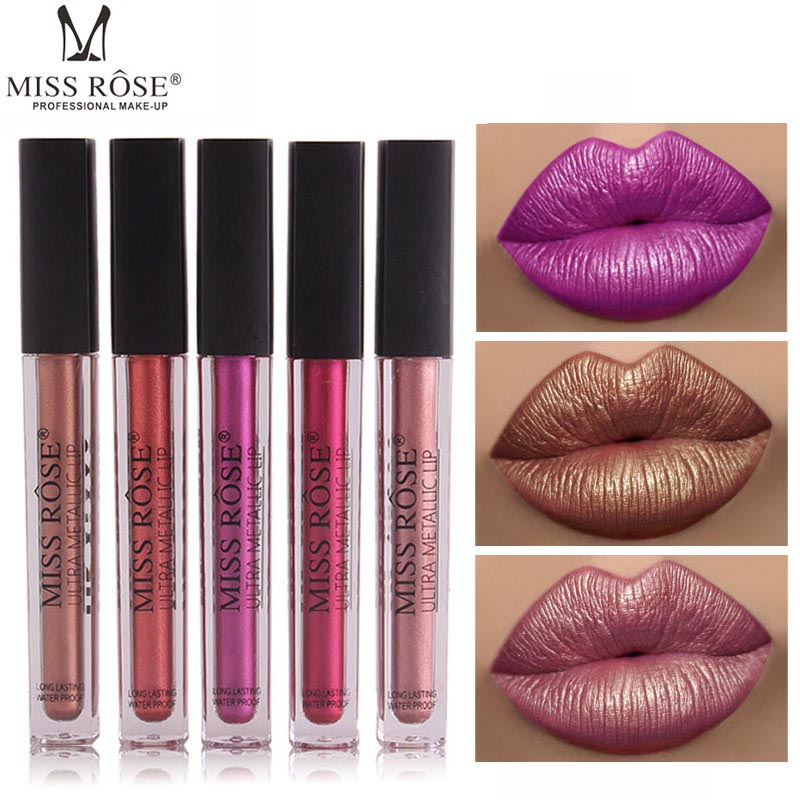 Buy miss rose metalic lipgloss and get free shipping on AliExpress.com 2881fb95d339