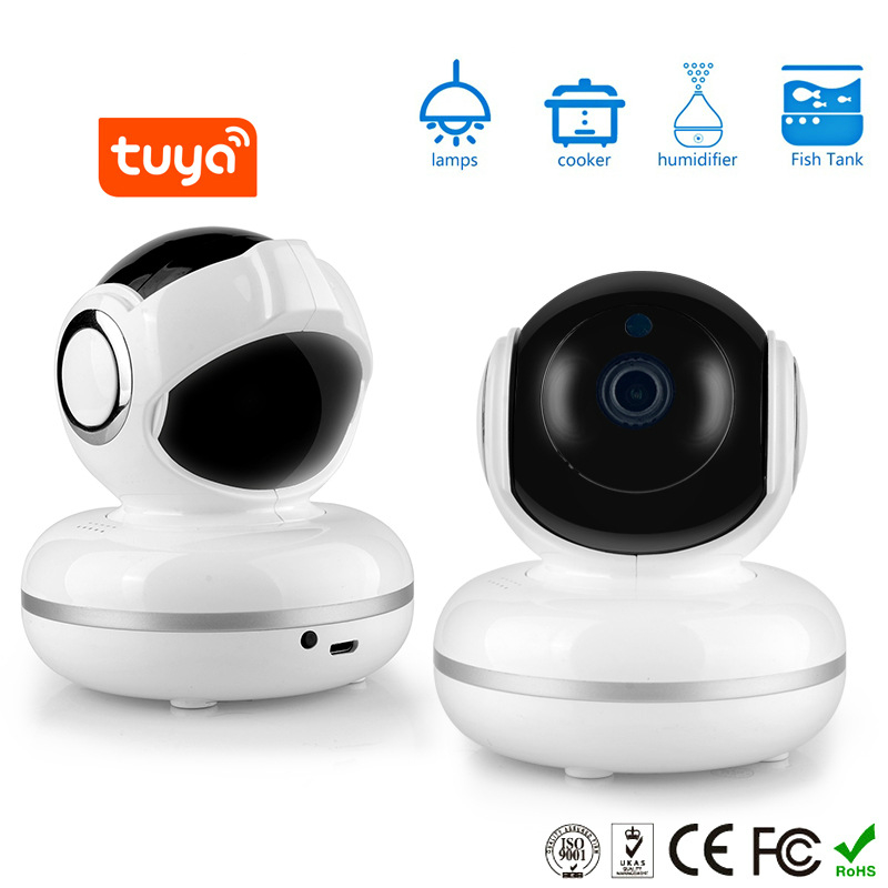Tuya Graffiti Smart 1080P Camera Network Mobile Phone Remote Monitor Wifi Camera