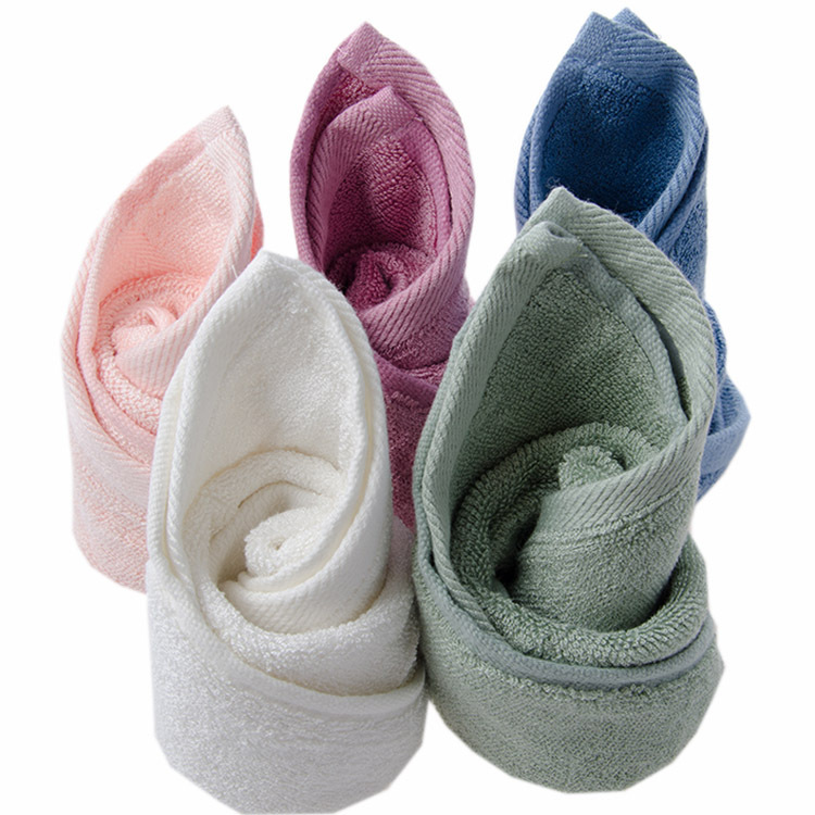 2016 Bamboo Fiber Square Towel Toalha Serviette En Bambou Unisex Handkerchiefs Satin Dobby Anti-virus Antibacterial Anti-mites