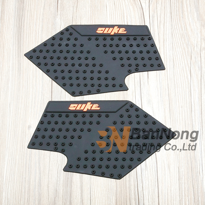 Careful For Ktm Duke 1 Pair Of Motorcycle Anti-slip Gas Tank Traction Pad Mat Knee Grip Sticker Protector Decals & Stickers
