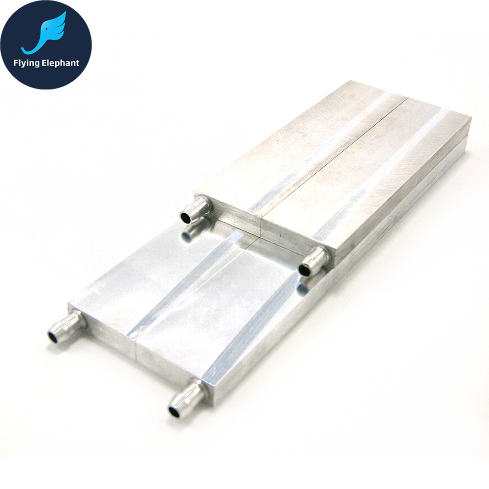 Aluminum Water Cooling Block CPU Radiator High-tech Semiconductor Chip 80*160 80*250mm цены