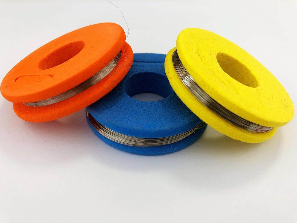 Нихромовая проволока, диаметр 0,08 мм-0,45 мм, диаметр 20 метров, 11 размеров, стандартная проволока Cr20Ni80, нагревательная пряжа Mentos