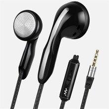 Fone de ouvido com fio, fone de ouvido intra auricular com fio e microfone, para telefone de 3.5mm