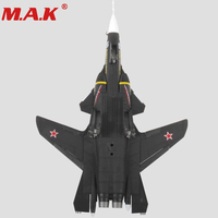 1/72 scale alloy airplane model toys Sukhoi Su 47 type Firkin supersonic aircraft fighter 1945 diecast for Kid gift collection