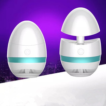 Mute usb powered bug zapper led mosquito killer lamps anti net trap electric light Photocatalytic Creative