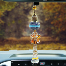 Car Pendant Perfume Diamond Gourd Pendants Decoration Ornaments Interior Accessories Styling Auto products