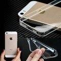 Оригинал Crystal Clear Прозрачный Ультра Тонкий Мягкий Чехол для ТПУ IPhone 5 5S 4 4S 6 4.7 ''для IPhone 5 Plus 5.5 ''Back Крышка кожи