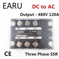 TSR 120DA SSR 120DA Three Phase Solid State Relay DC 5 32V Input Control AC 90