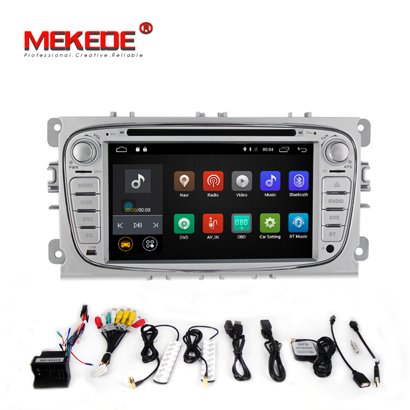 7inch HD 1024x600 2din car font b multimedia b font player for FORD Mondeo S MAX