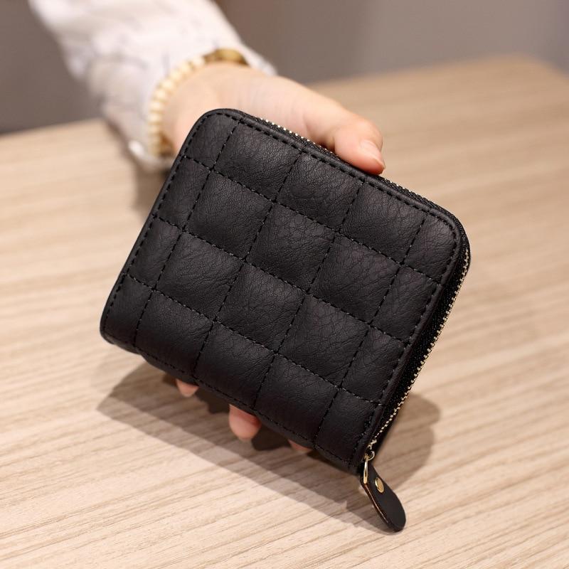 Casual Women Wallets Leather Purse Female Wallet Card Holder Coin Pocket Short Wallets Carteira Feminina WWS240